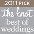 2011 Pick - The Knot best of weddings
