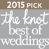2015 Pick - The Knot best of weddings